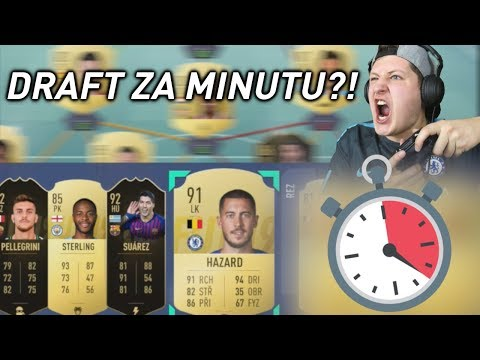 1 MINUTA NA SLOŽENÍ DRAFTU! [FIFA 19]