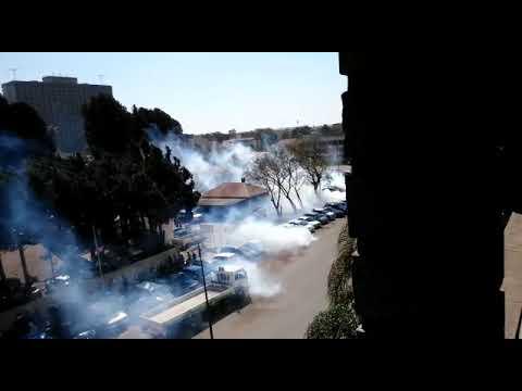 MDC DEMO: Harare up in smoke