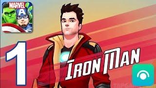 MARVEL Avengers Academy - Gameplay Walkthrough Part 1 - Level 1-3 (iOS, Android)