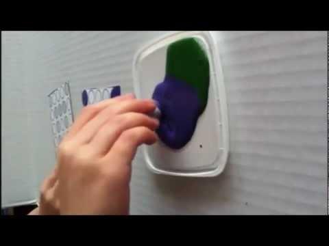 Screenshot of video: Tripod Grip Fingertip Dot Markers