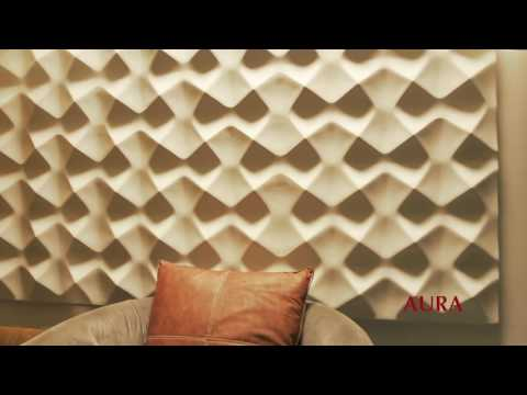 Artpole presents 3D wall gypsum panels