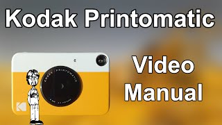 Kodak Printomatic Video Manual: Overview, Operation, How to Take a Photo, Double Exposures
