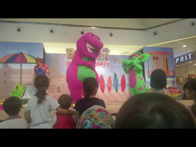 Barney Beach Party Singapore 2016 Part 2