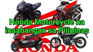 HONDA MOTORCYCLES NA INAABANGAN SA PILIPINAS SAXONWHEELS MOTOVLOG