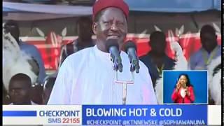Raila Odinga says he is not in 2022 race