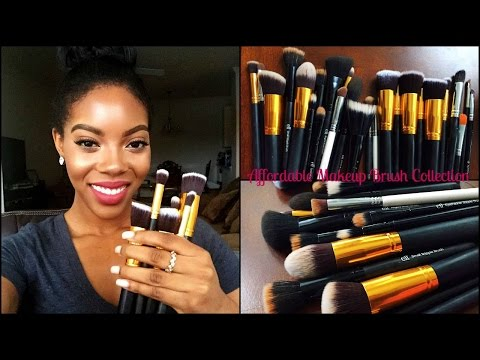 208 Synthetic Angled Brow Brush by MAC #8