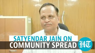 Does Delhi have Covid community spread? State health minister comments  IMAGES, GIF, ANIMATED GIF, WALLPAPER, STICKER FOR WHATSAPP & FACEBOOK