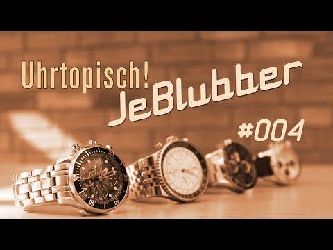 Uhrtopisch JeBlubber #004 - Parnis Uhr im Kurzreview - die Grüße & mehr