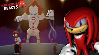 """Knuckles Reacts To: """"Pennywise Vs Groot - Cartoon Beatbox Battles"""""""