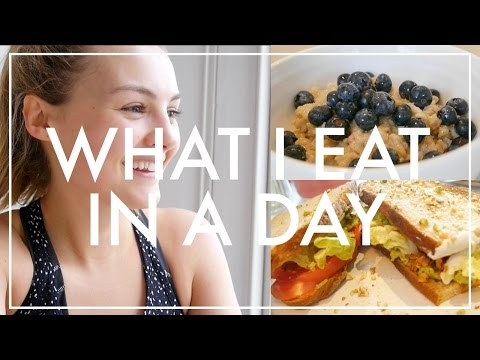 Video 11. What I Eat In A Day | Niomi Smart