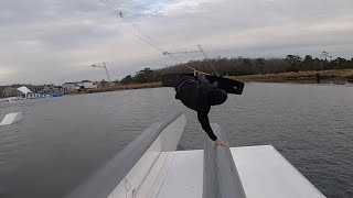 RACE DRONE FILMING WAKEBOARDING? First 48 hours in Orlando with Graeme Burress