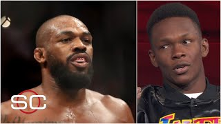Israel Adesanya: Jon Jones is a 'washed up old man' | SportsCenter