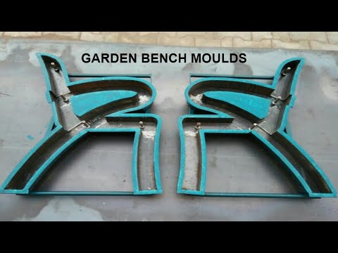 Park Bench And  Railway Bench Moulds