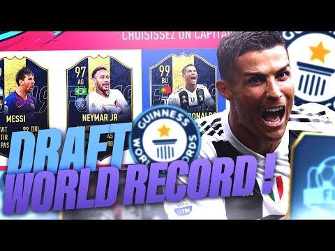 FIFA 19 - ON TENTE DE FAIRE LA MEILLEURE DRAFT ! ON VEUT DU 193 !!