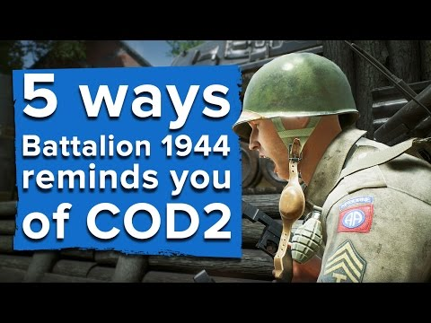 5 ways Battalion 1944 reminds you of Call of Duty 2 multiplayer