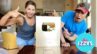 This 1 Million Subscribers YouTube Gold Play Button is WAY BIGGER THAN WE THOUGHT