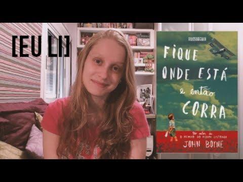 FIQUE ONDE ESTÁ E ENTÃO CORRA | Livros e mais #46