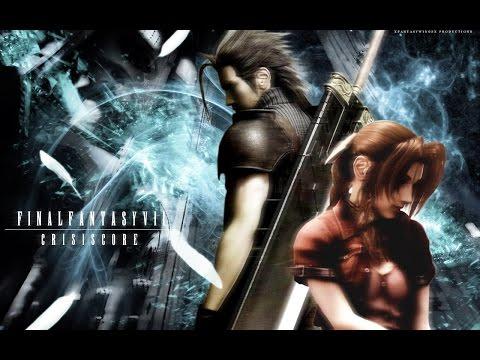 Zack and Aerith Love Story (Aeris) Crisis Core: Final Fantasy VII