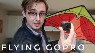 FLYING GoPro on a STUNT KITE!!  | Vlog 050