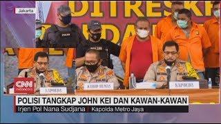 Live streaming 24 jam: https://www.cnnindonesia.com/tv  Polisi telah menangkap para tersangka penembakan, yang terjadi di Green Lake Tangerang, dan penganiayaan yang terjadi di Cengkareng Jakarta Barat. Total ada 25 orang yang ditangkap, termasuk Jhon Kei.  Menurut polisi , dua peristiwa tersebut dilakukan oleh kelompok yang sama, yakni kelompok John Kei.  Ikuti berita terbaru di tahun 2020 dengan kemasan internasional berbahasa Indonesia, dan jangan ketinggalan breaking news dengan berita terakhir dan live report CNN Indonesia di https://www.cnnindonesia.com/tv dan channel CNN Indonesia di Transvision.    CNN Indonesia tergabung dalam grup Transmedia. Dalam Transmedia, tergabung juga Trans TV, Trans7, Detikcom, Transvision, CNN Indonesia.com dan CNBC Indonesia.   Follow & Mention Twitter kami: @myTranstweet @cnniddaily @cnnidconnected  @cnnidinsight  @cnnindonesia   Like & Follow Facebook: CNN Indonesia  Follow IG:  cnnindonesiatv