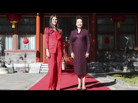 China's first lady Peng Liyuan calls for greater ties with Serbia