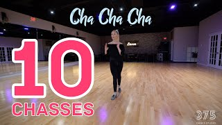 10 Chasses Of International Cha Cha | Latin Dance Tutorial
