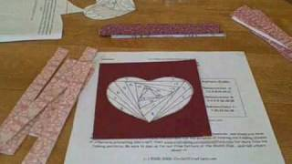 Iris Folding - Heart Project