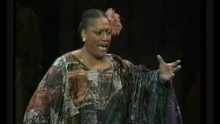 Jessye Norman as Elizabeth in Tannhauser from ENO Concert