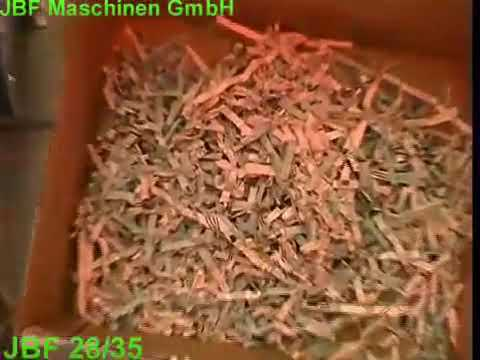 Video of the JBF 28-35 20mm Mixed Waste Reduction Shredder Shredder