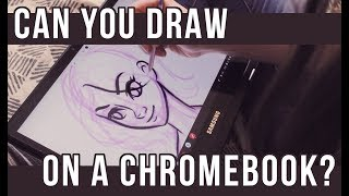 Can you make ART on a CHROMEBOOK? | How artists can use a Chromebook