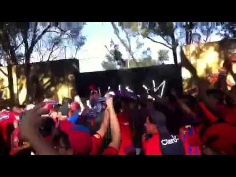 """""""La U5C Armando carnaval"""" Barra: La Banda del Rojo • Club: Municipal"""
