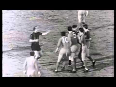 Гол. Peiro. 1965 год. Inter - Liverpool