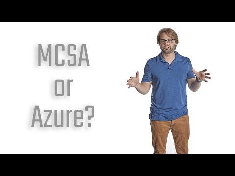 Should You Get Your MCSA Windows Server or Azure Administrator ...