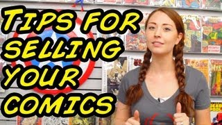 Tips for Selling Your Old Comic Collection