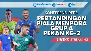 Konferensi Pers Piala Menpora: Barito Putera vs Arema FC, PS Tira Persikabo vs PSIS Semarang