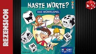 Haste Worte? Das Würfelspiel (Hartwig Jakubik, HUCH! 2018) - Rezension