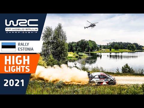 WRC 2021 第7戦ラリー・エストニア ハイライト動画