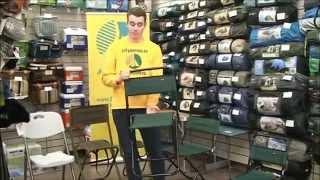 Раскладные стульчики для рыбалки со спинкой