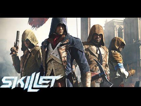 Assassin's Creed ► ACMV - (2016) - Skillet - Comatose, Awake and Alive, Monster,Inside The Black.HD