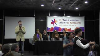 """Presentación de """"Anécdotas de Magia Iniciática"""" en la Feria del Libro en Buenos Aires"""