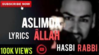 Lyrics Geeflow Musab | New Hasbi Rabbi Jallallah Turkish