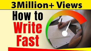 How to Write Fast With Good Handwriting? | Exam Tips For Students | Letstute