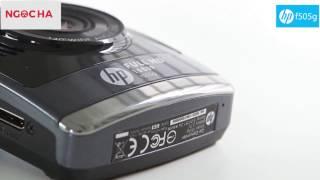 Đánh giá camera hành trình HP f505g