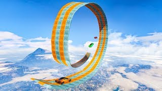 MASSIVE LOOP OVER THE WHOLE MAP! (GTA 5 Races)
