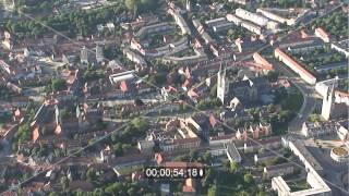 preview picture of video 'Stadtansicht der Altstadt von Halberstadt im Bundesland Sachsen-Anhalt'