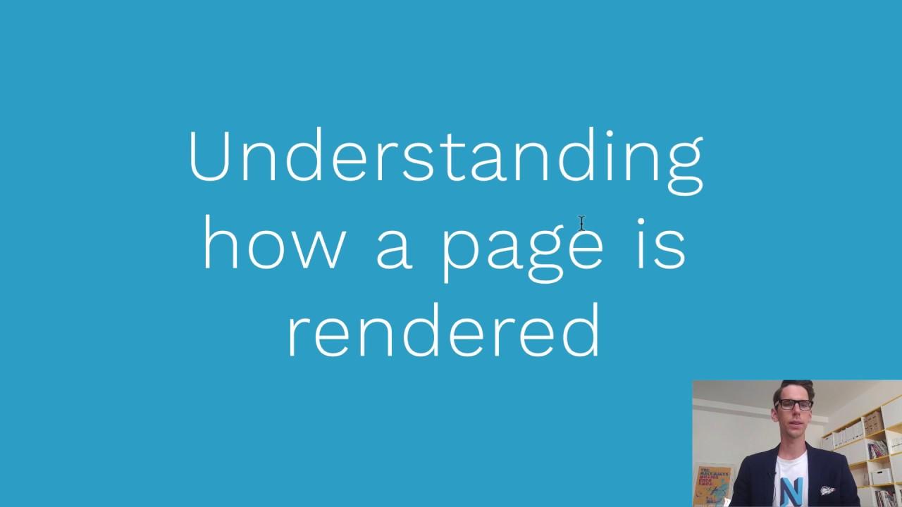 Neos Course - 06 Understanding rendering