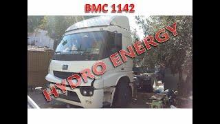 BMC pro 1142 dcx çekici hidrojen yakıt sistem montajı