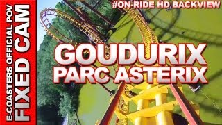 preview picture of video 'Goudurix - Parc Asterix | On-Ride Back View (ECam HD)'