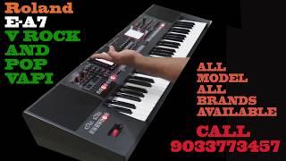 Roland E-A7 Arranger keyboard Review & all Sounds