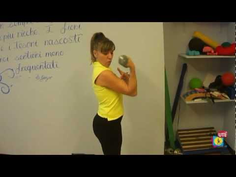 Complesso di esercizi fisici per bambini scoliosis